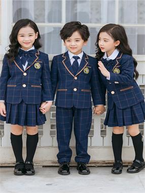 儿童英伦风校服套装X8818