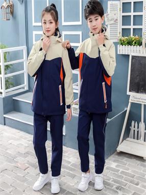 小学生冲锋衣校服G001