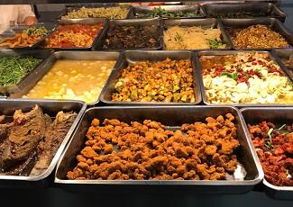 食堂菜品展示