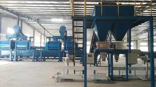 有机肥生产线流程与设备的组成