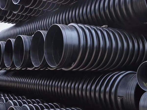 排水用HDPE双壁波纹管材