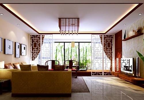 中式瓷砖装修案例