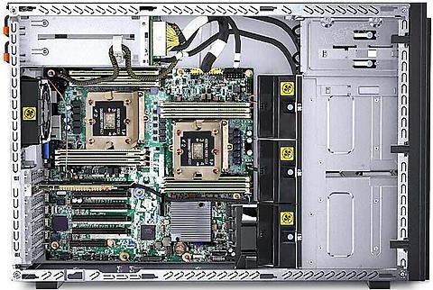 欢迎采购咨询4210R/32G内存/3x1.2T SATA参数的联想ST558塔式服务器