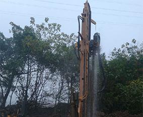 施工地源热泵井