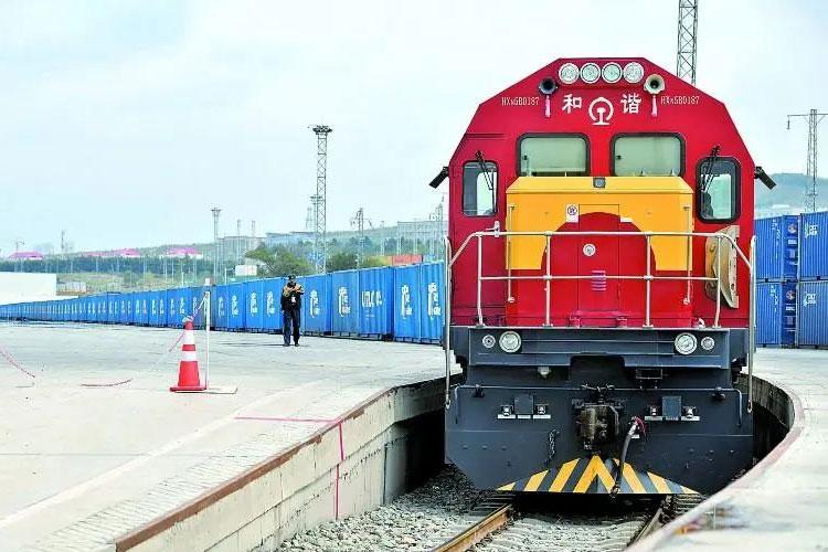 Sino Russian train