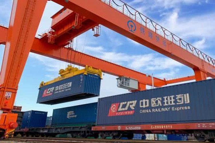 China Europe train