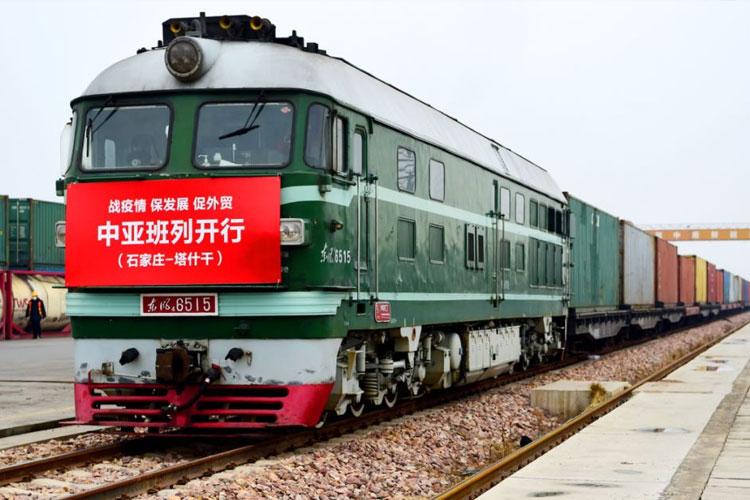 Central Asia train
