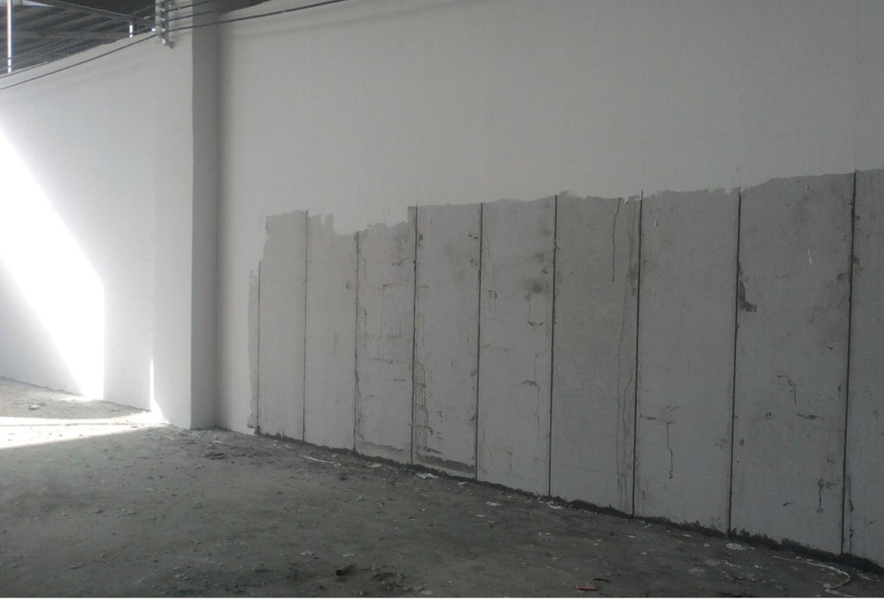 轻钢龙骨硅酸钙板隔墙系统