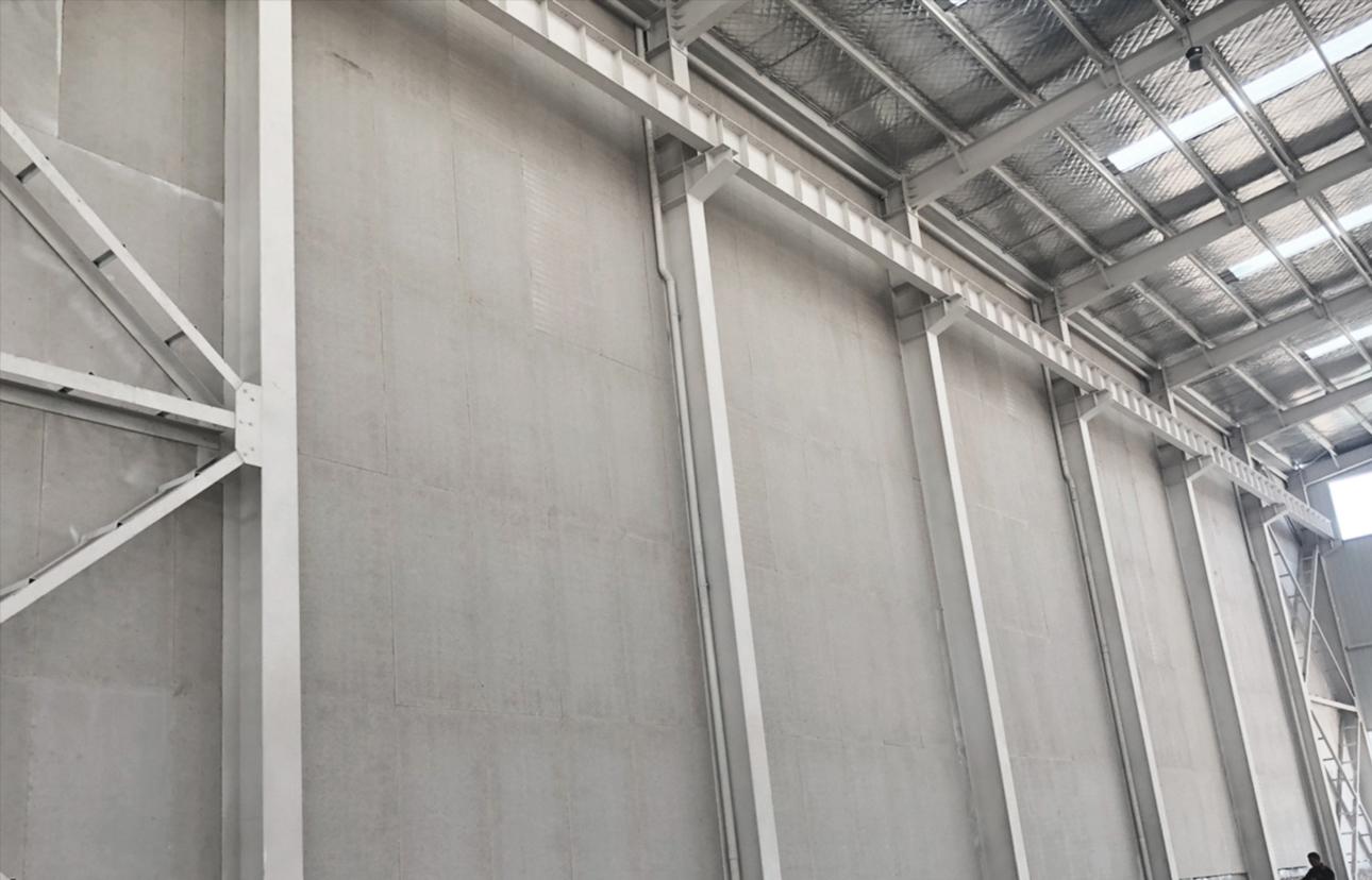 硅酸盐板防火墙系统