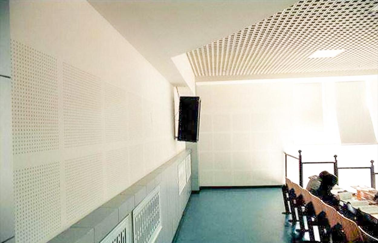 穿孔硅酸钙吸音墙系统