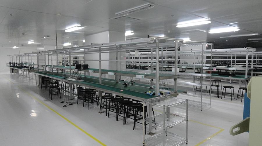 LCM生产流水线规划案例
