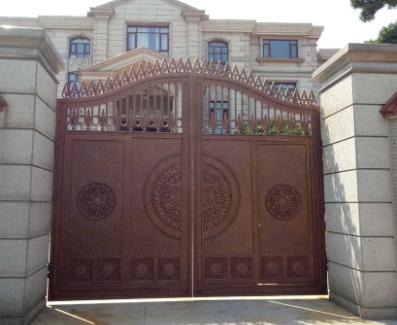 别墅铸铝门