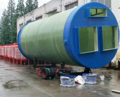 城市一体化污水提升泵站