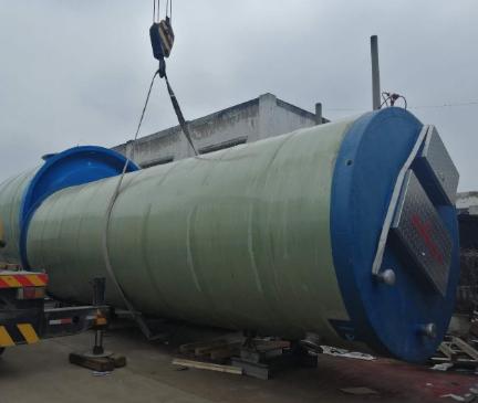 道路一体化雨水泵站