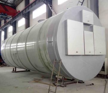 耐酸碱污水处理泵站