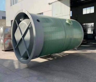 玻璃钢污水提升泵站