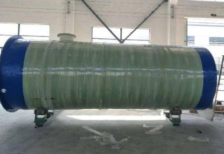 玻璃钢式污水泵站