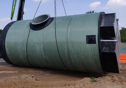 大型污水泵站