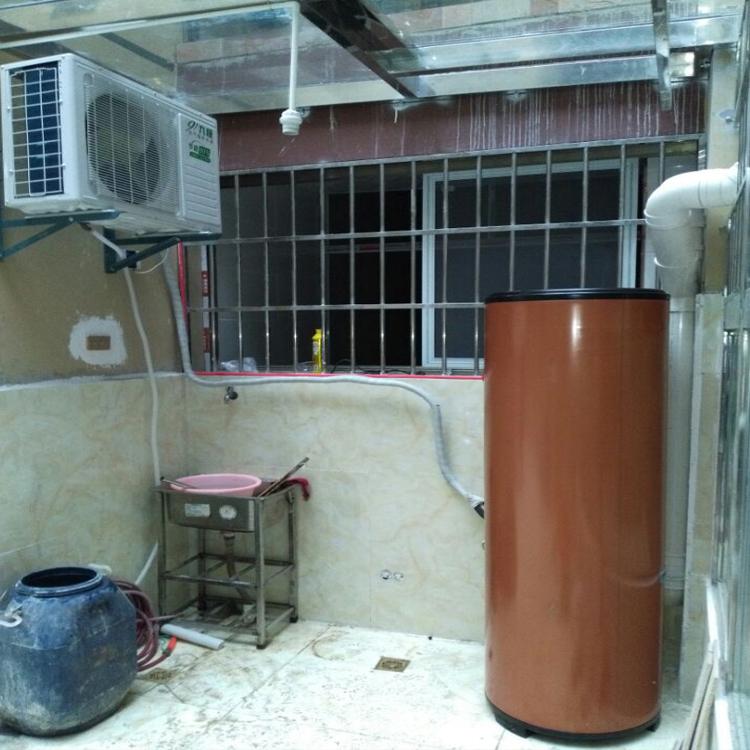 贵安第一城200L家用空气能热水器安装案例