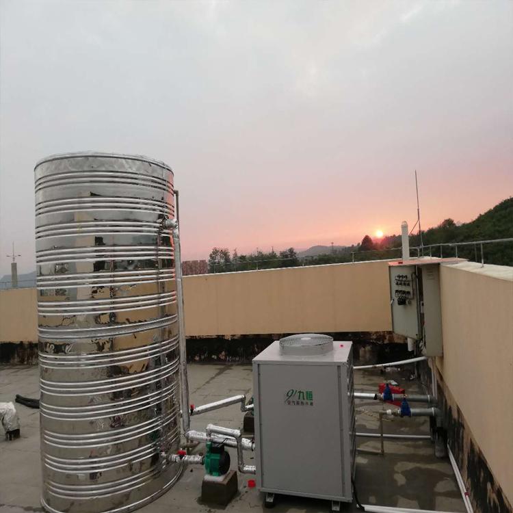 白云金西监狱营房空气能热水器安装