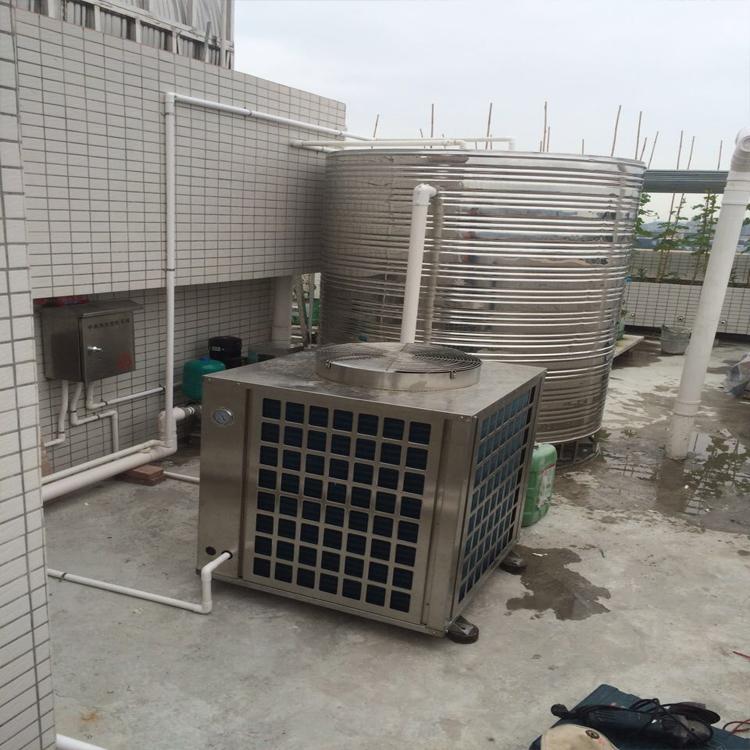 桑拿空气能热水器安装案例