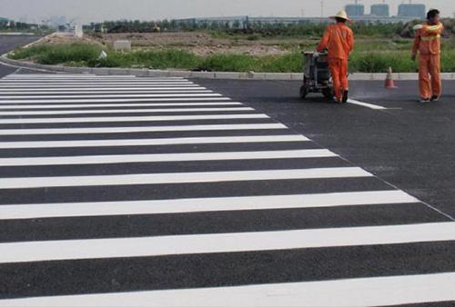 厂区道路划线