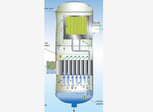 两级分离器-进口装置