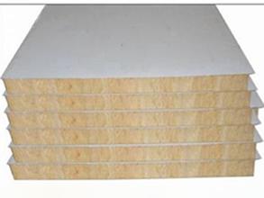 净化岩棉夹芯板