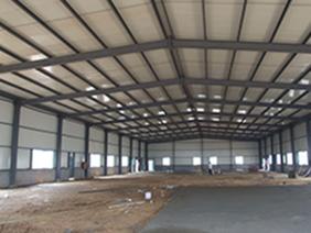钢结构工地仓库