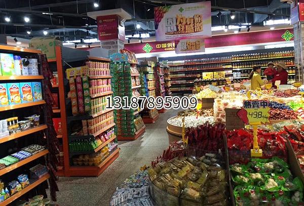 昆明白邑供销合作社超市货架