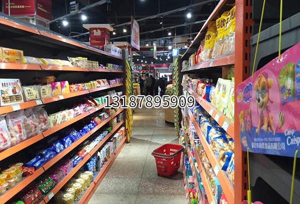 云南超市食品货架