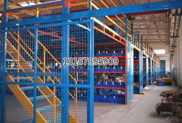 云南重型阁楼式货架厂家