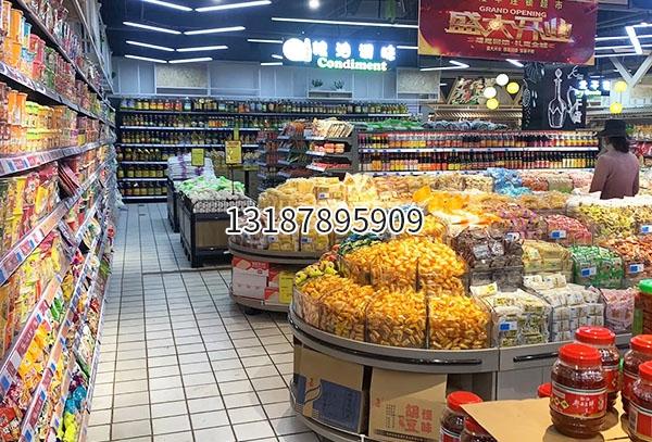 超市糖果货架