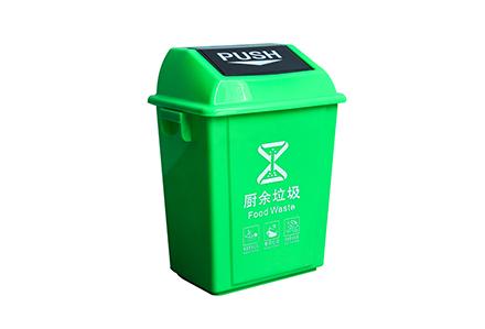 弹盖塑料垃圾桶