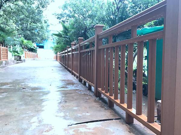 中信塑木公司的塑木护栏为您打造别样风景
