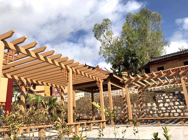 塑木葡萄藤架