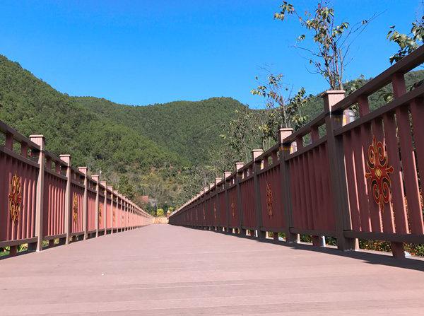 塑木护栏栈道