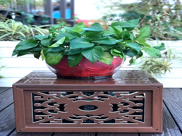 成品塑木花箱