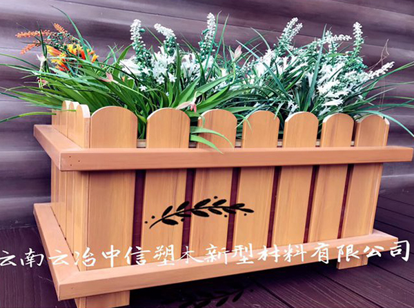 塑木成品花箱