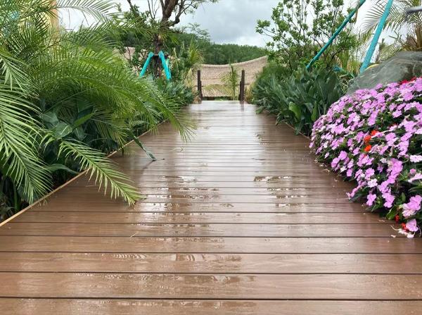 园林塑木地板