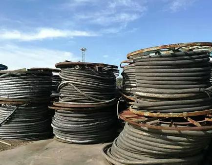 回收废旧电缆线