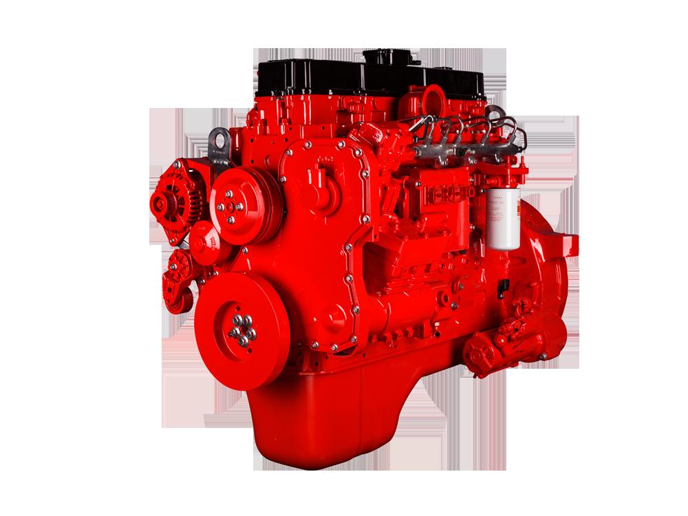 工程机械式发动机