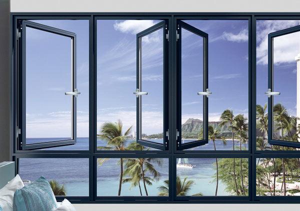 为什么在断桥铝合金门窗上使用钢化玻璃?