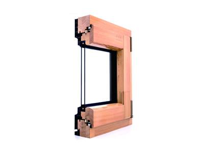 静雅IV68系列铝木门窗系统