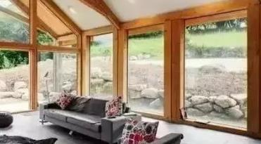 耐火完整性0.5h的窗-铝包木门窗