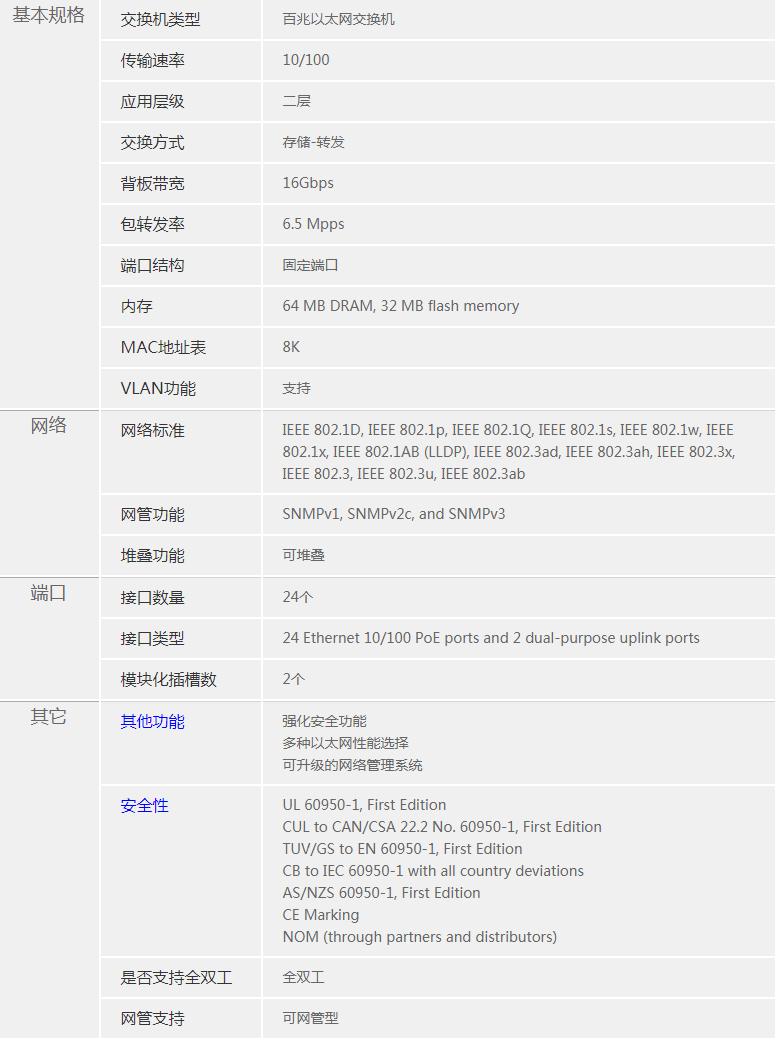 北京思科CiscoWS-C2960-24PC-L交换机
