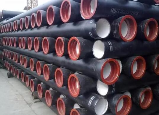 簡述了鑄鐵管的堆放原則
