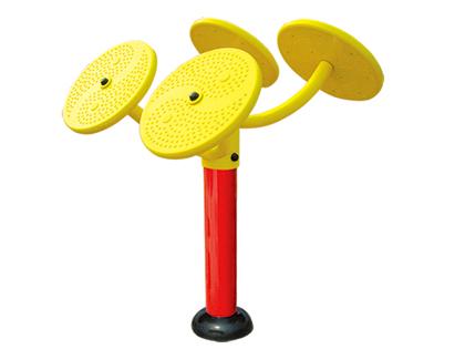 室外健身器材-太极揉推器