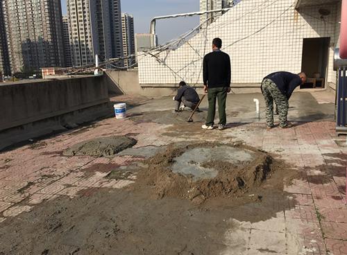 老旧小区屋顶防水工程施工