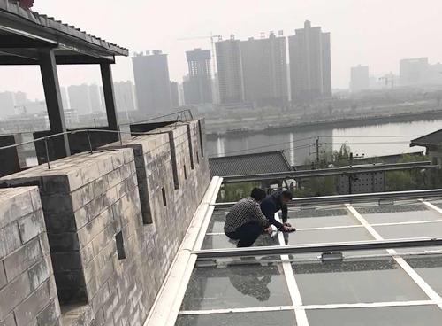 玻璃屋顶防水工程施工